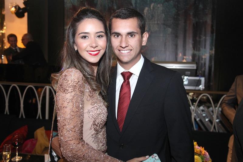 Livia Feitosa e Domingos Neto
