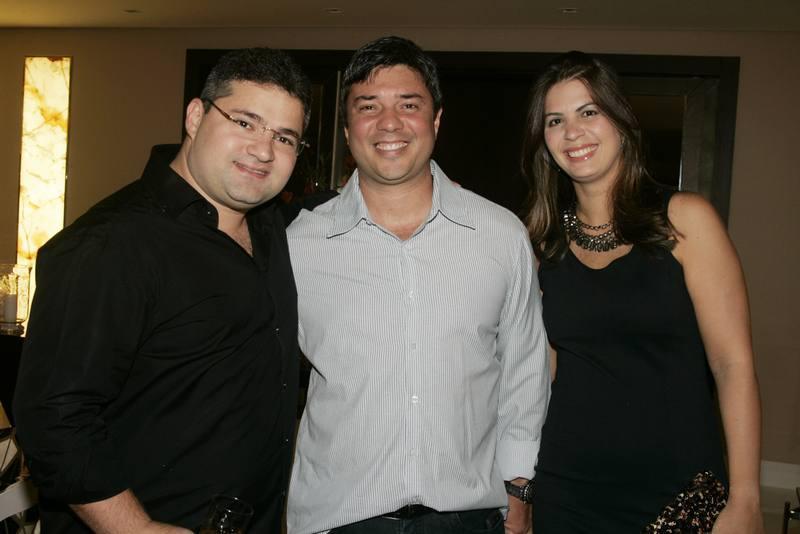 Mario Queiros, Ricardo e Analice Zardo