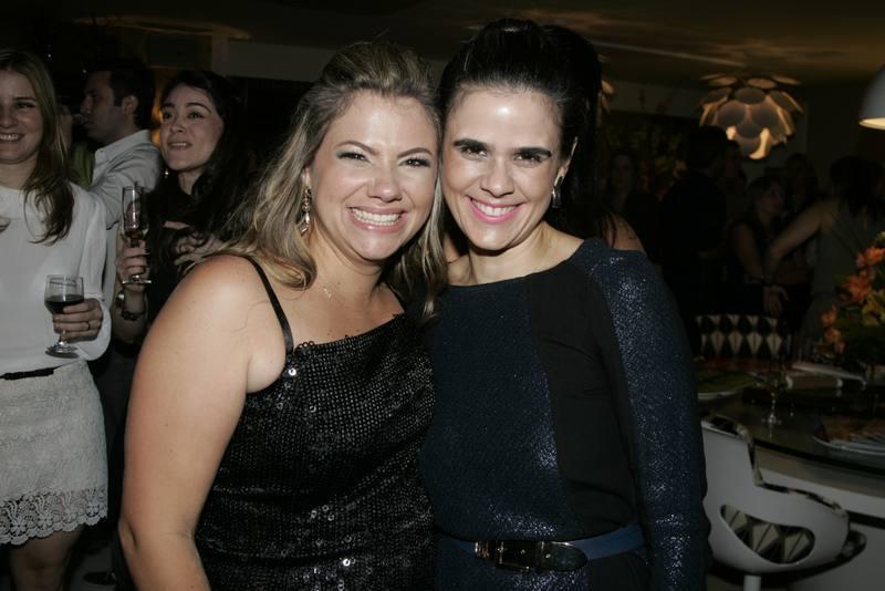 Vanessa Queiros e Niedja Bezerra