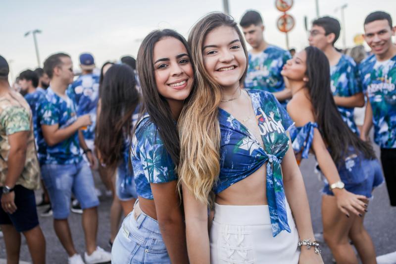 Barbara Oliveira e Alice Goncalves