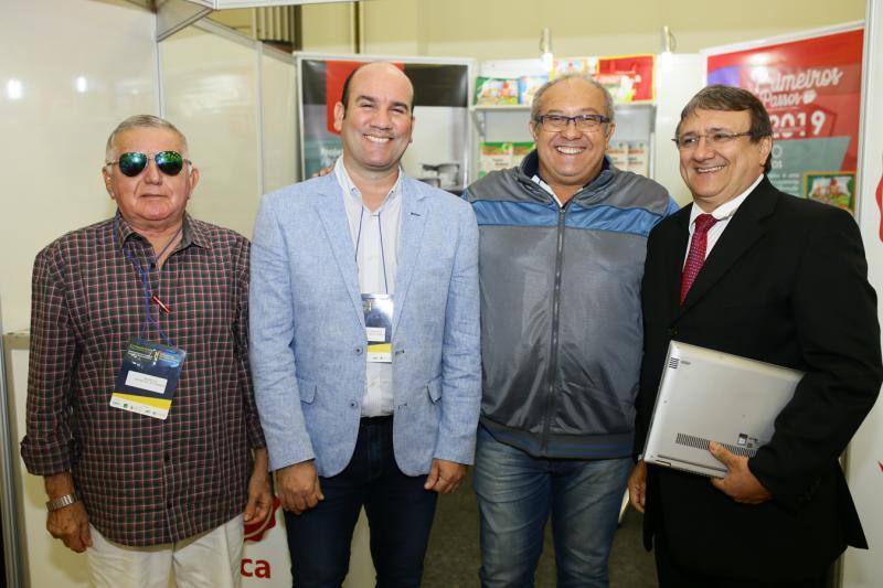 Osivan Mendonça, Dewyson Medeiros,Junior Montinegro e Evandro Feitosa