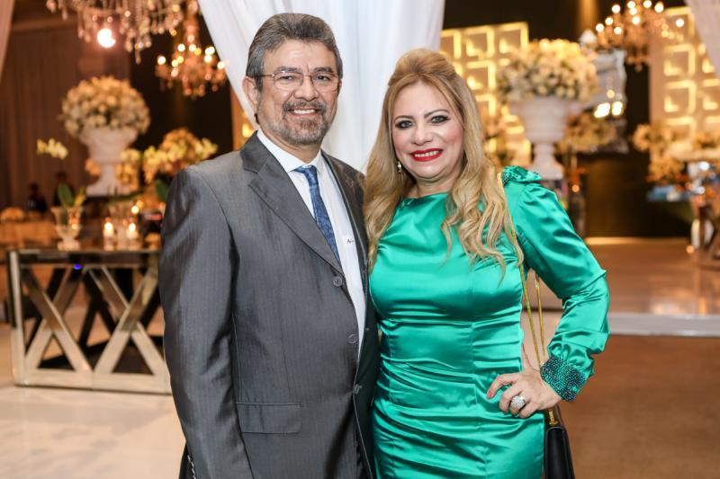 Joao Marcos e Solange Maia