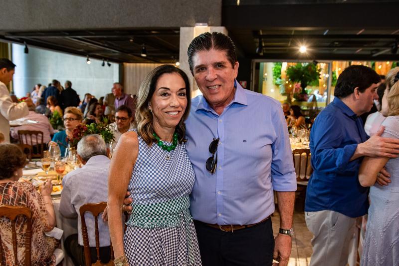 Marcia Tavora e Dito Machado
