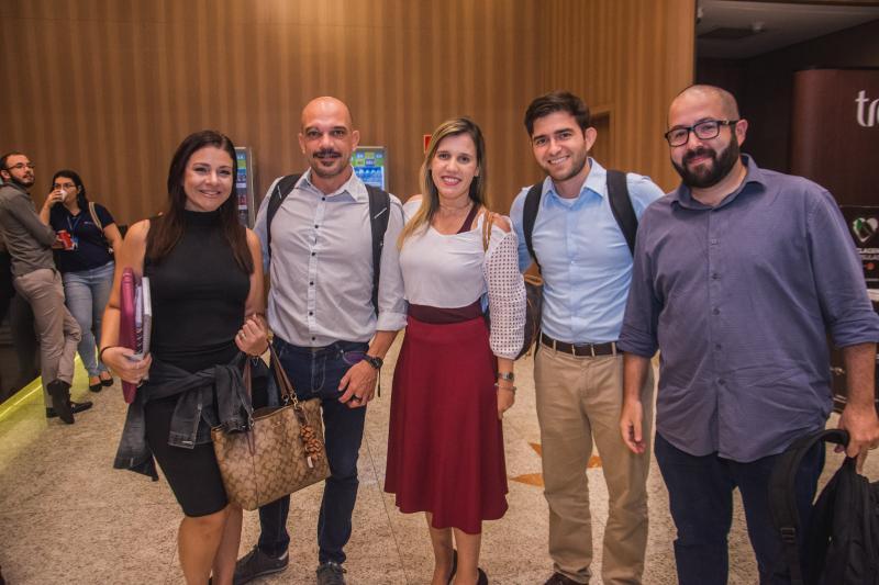 Ligia Sales, Ricardo Hilsdorf, Ivina Morisini, Pedro Breckenfeld e Rodrigo Baquiti