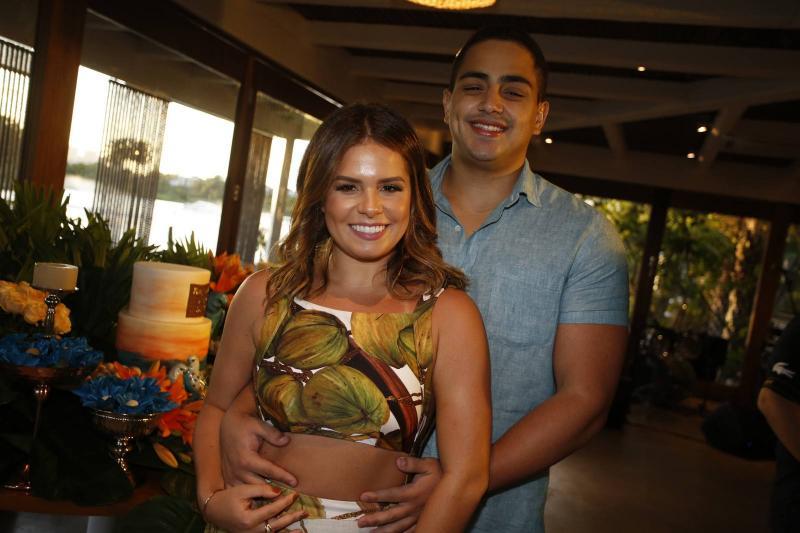 Leticia Studart e Rafael Pinto