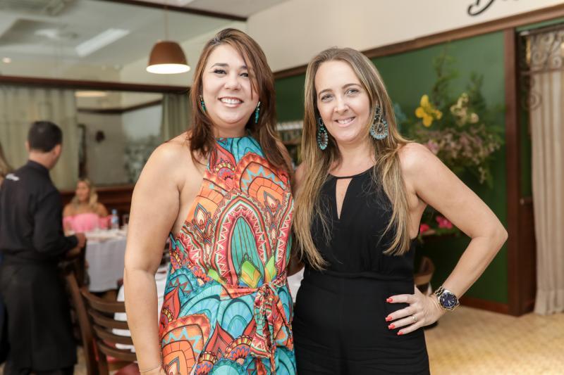 Zelia Paiva e Karine Arrais