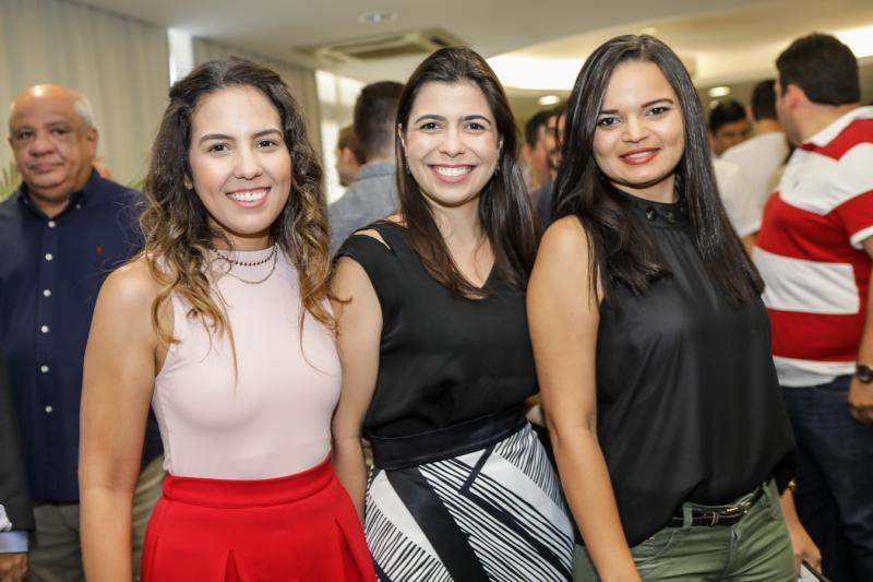 Marcela Abreu, Alessandra Adjafre e Mabel Chaves