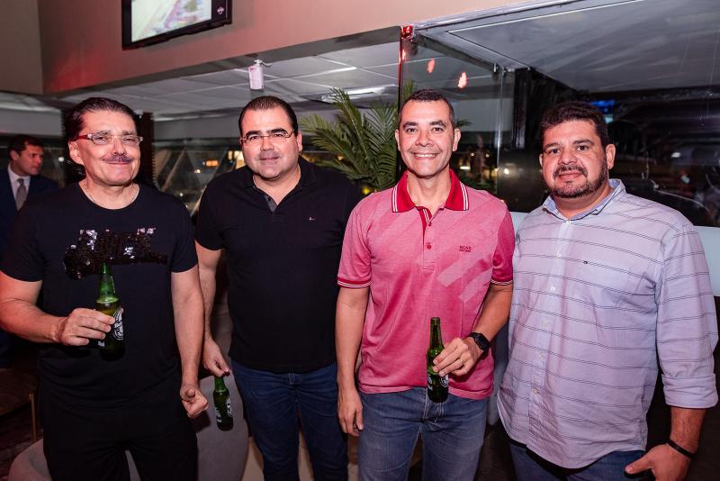 Elano Bezerra, Luciano Cavalcante, Robson Mapurunga e Adriano Alves