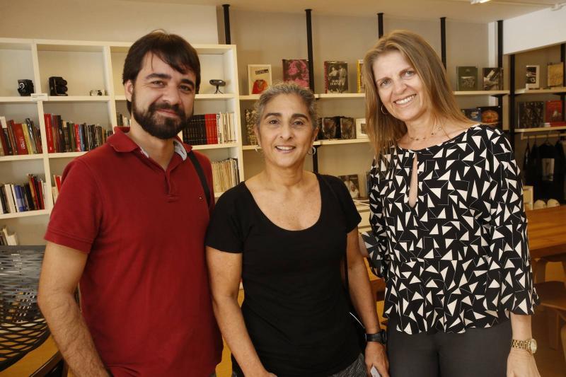 Roberto Vieira, Suzi Costa e Nely de Carvalho