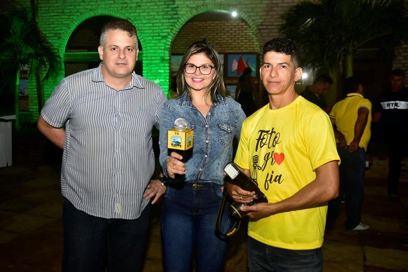 Harley Dias, Vanessa Ribeiro, Flavio Lucas