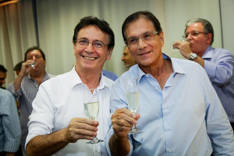 Francilio Dourado e Beto Studart