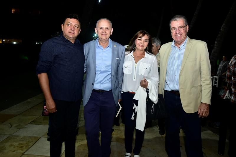 Rinaldo Almeida, Francisco Caminha, Ana Almeida, Wilson Vicentino