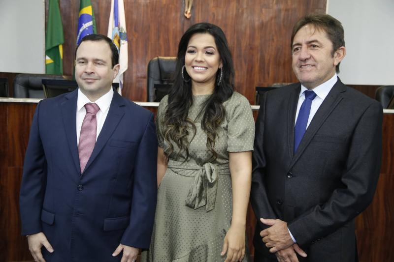 Igor Barroso, Priscila Costa e Adail Junior