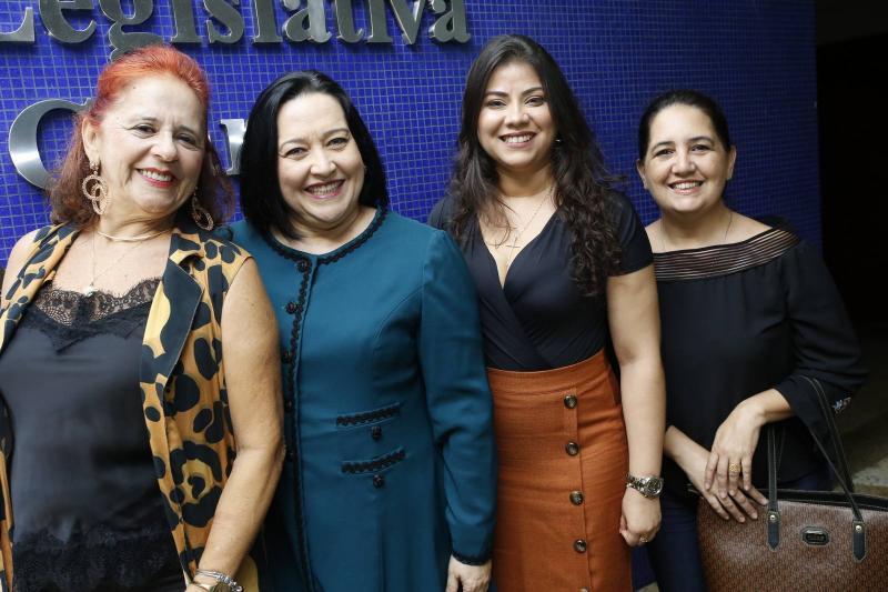 Fatima Duarte, Norma Zelia, Analu Bezerra e Analurdes Lima