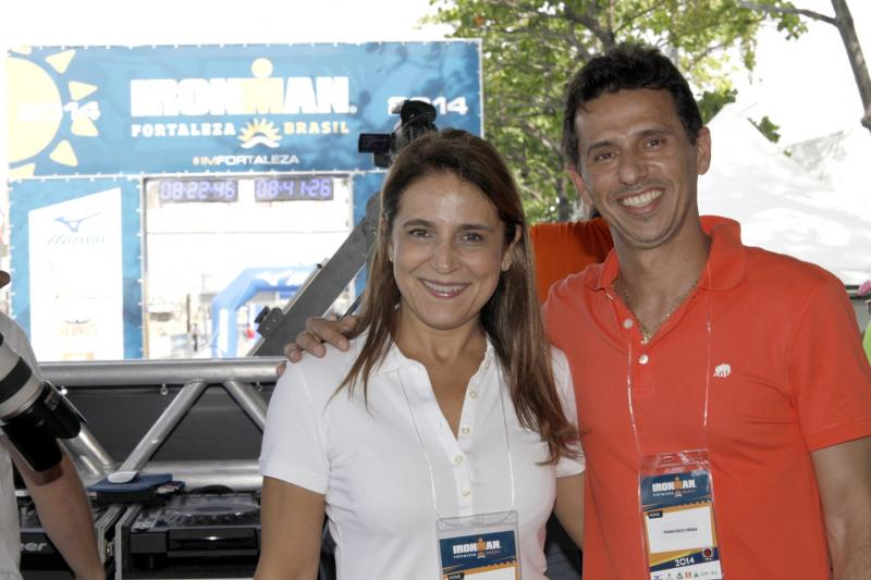 Patricia Macedo e Francisco Veras