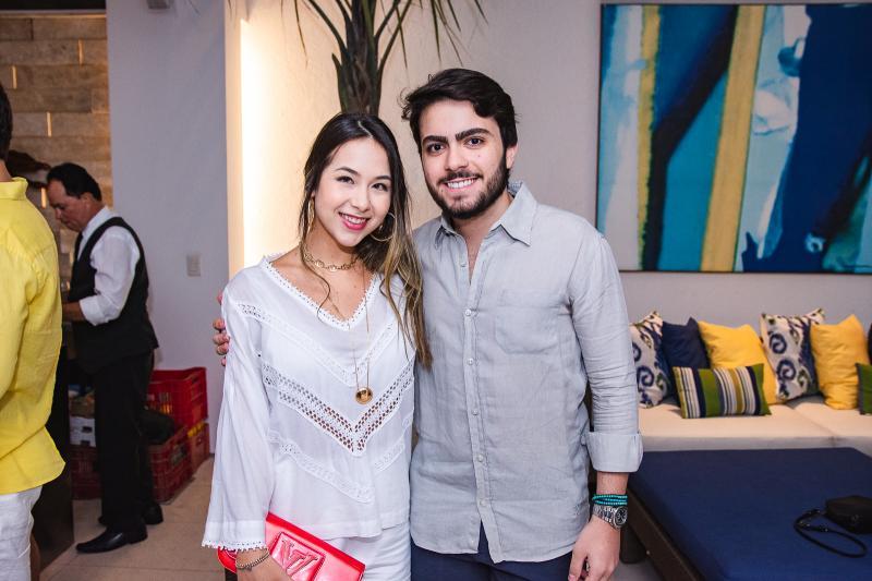Nicole Brookes e Rodrigo Machado