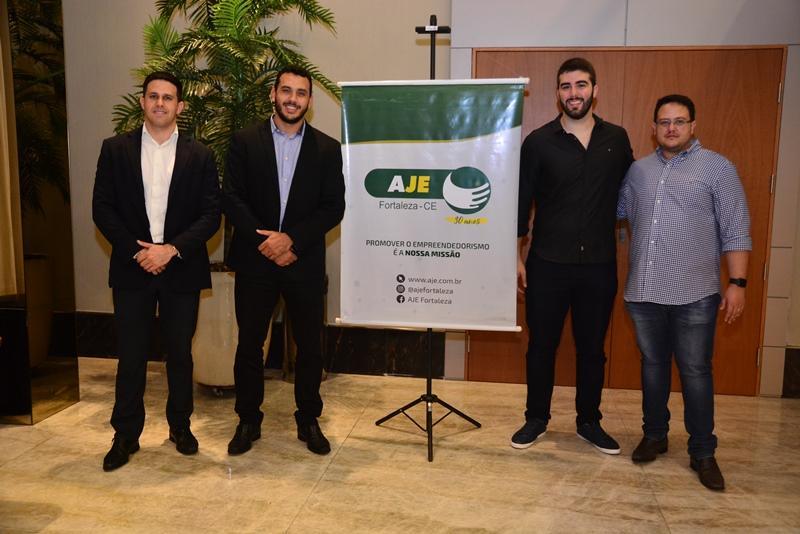 Strauss Nasar, Igor Pinheiro, Valdemir Alves e Marcos Vinicius Saraiva
