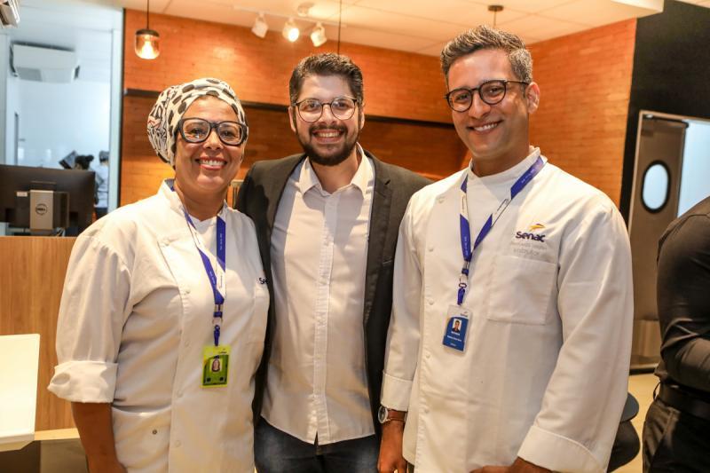 Dida Carneiro, Ivan Prado e Matheus Vieira