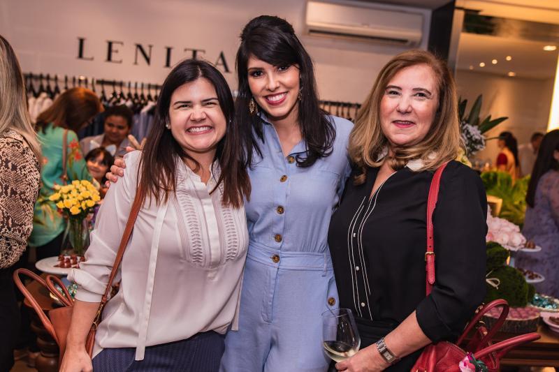 Ticiana Brigido, Flavia Laprovitera e Joria Araripe