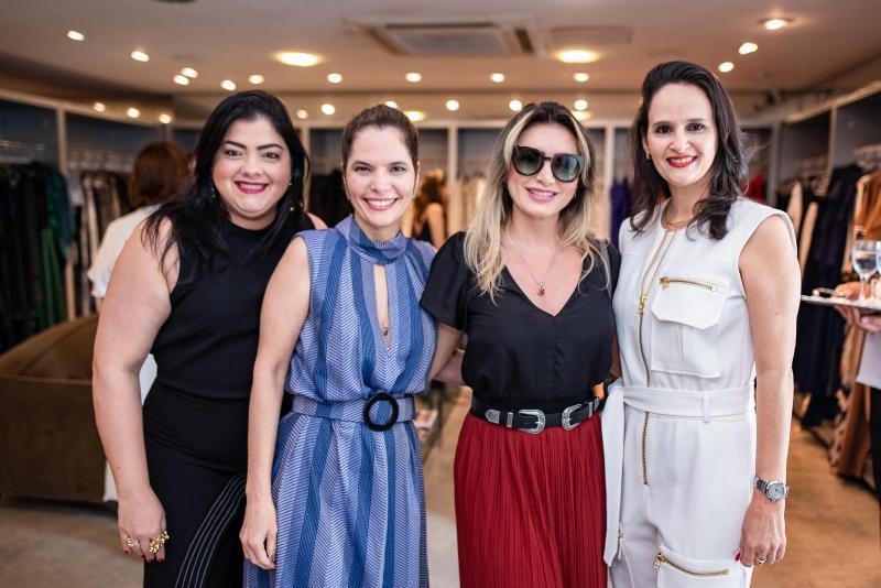 Viviane Almada, Cristiana Carneiro, Jaqueline Maya e Adriana Miranda