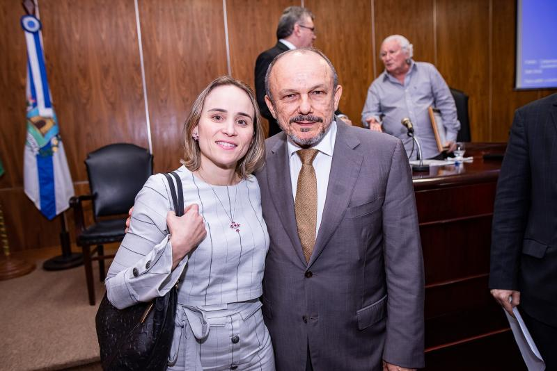 Fernanda Pacobahyba e Honorio Pinheiro