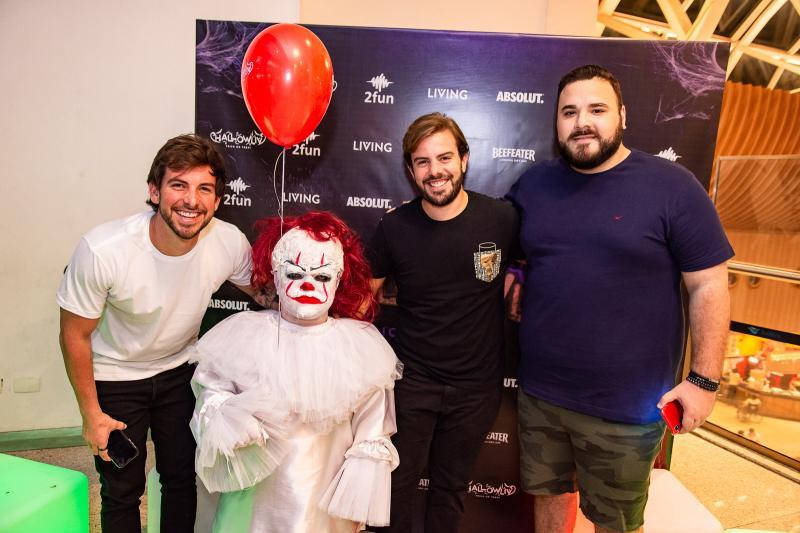 Pedro Campos, Claudio Nelson e Lucas Coelho