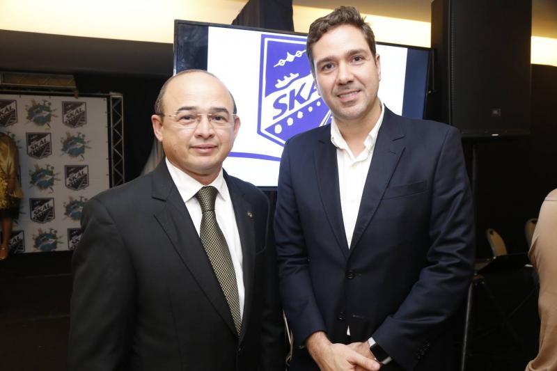 Sergio Aguiar e Eduardo Bismarck