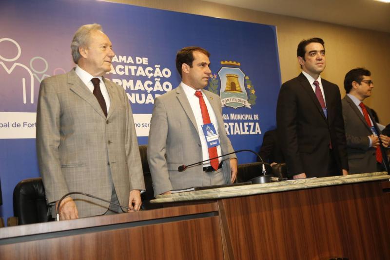 Ricardo Lewandowski, Salmito Filho e Julio Dantas