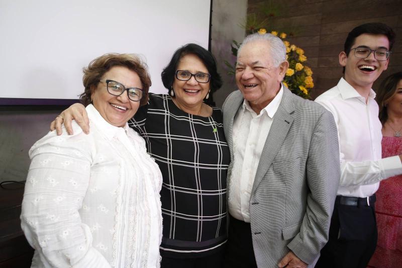 Edinace Bezerra, Damares Alves e Teixeira Rego