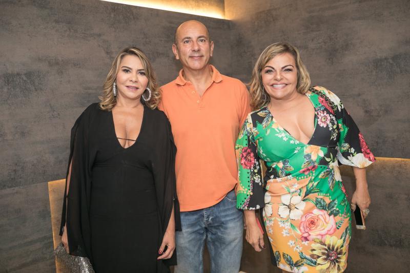Netinha Gomes, Valter Miranda e Tea Morera
