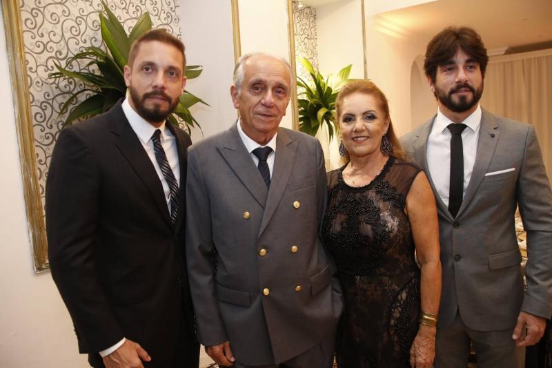 Joao Paulo, Joao, Conceicao e Antonio Guimaraes
