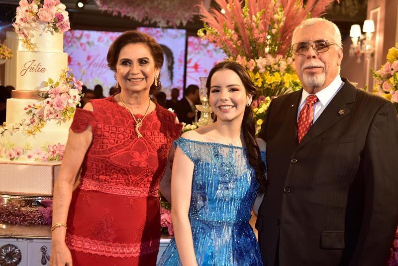 Marilena Campos, Julia, Eduardo Pontes, Orlando Pontes, Ju