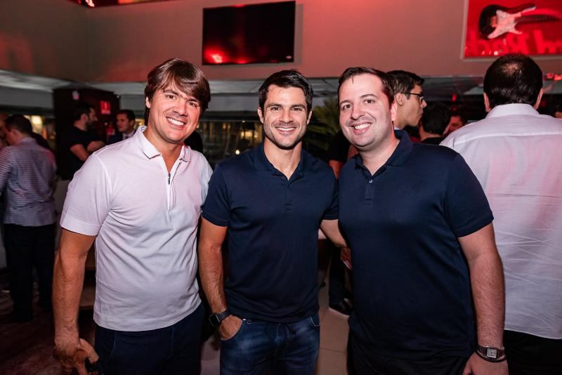 Carlos Petroni, Márcio Petronio e Rodrigo Ponte