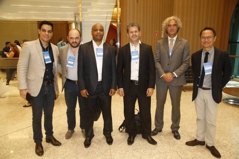 Diego Mendes, Carlos Albeto, Marcos Clima, Carlos Donizeti, Roberto Berardi e Edson Yabiko