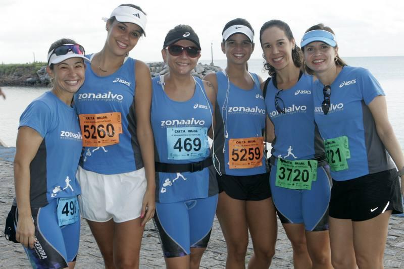Flavia Parente, Renata Lima, Olga Costa, Karine Holanda, Adriana Bastos e Silvana Cartaxo