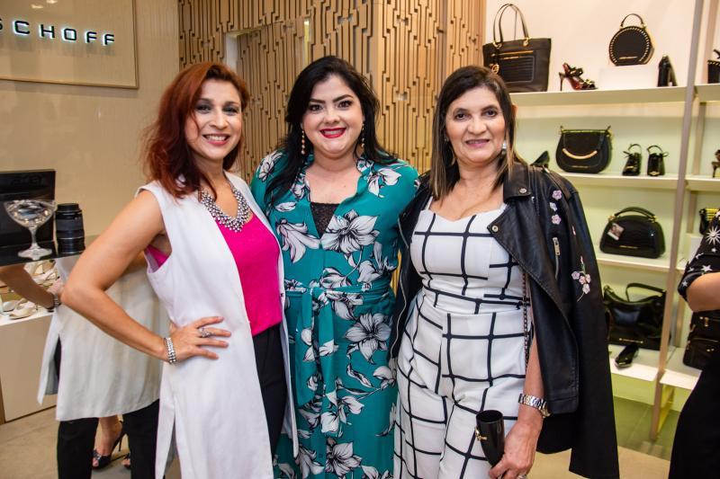 Patricia Porto, Viviane Almada e Luciana Ribeiro