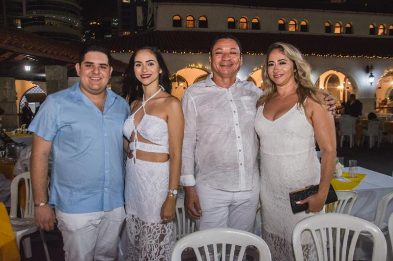 Joao Vitor Pessoa, Barbara Castelo, Sergio Girao e Agatha Castelo Branco