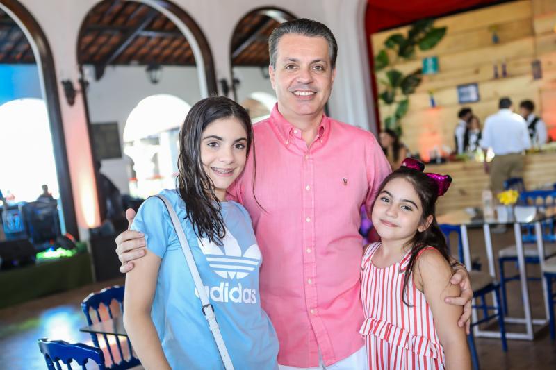 Sofia, Leo e Nicole Dallolio