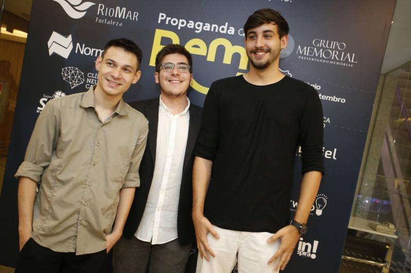 Nilson Carvalho, Eric Assuncao e Daniel  Hitzschky