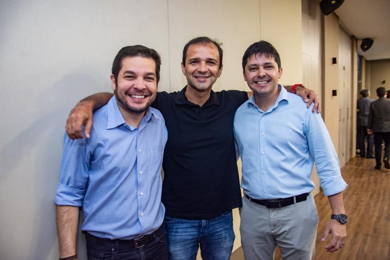 Celso thomaz, Mario Camps e Daniel Rios