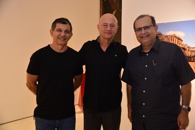 Francisco Hissa, Demetrio Jereissati e Henrique Braga