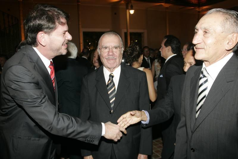 Cid Gomes, Jose Sarney e Vicente Fialho