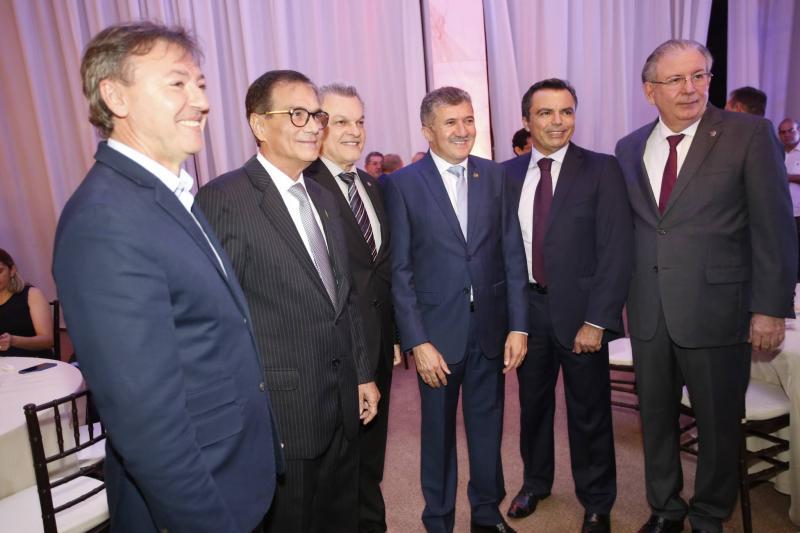Mauricio Filizola, Beto Studart, Jose Sarto, Antonio Henrique, Juvencio Viana e Ricardo Cavalcante