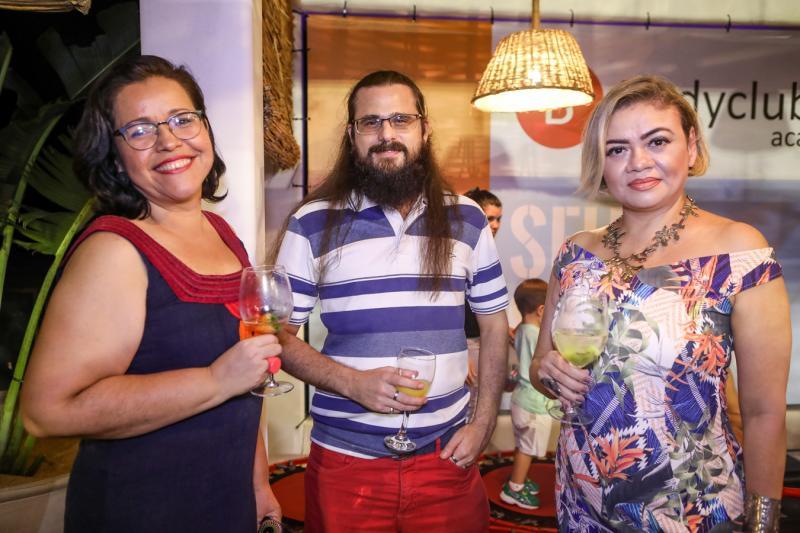 Aldi Lima, Wilson Pinho e Paula Picanço