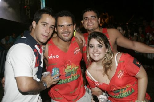 Luiz Moraes, Marcelo e Marco Lopes e Lina Siqueira