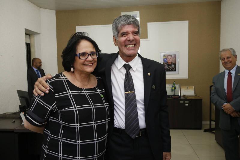 Damares Alves e Coronel Benicio 1