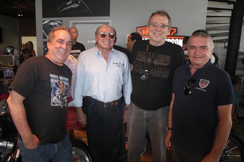 Geraldo Magela, Walkimar Santos, Nilton Bastos e Edson Silva