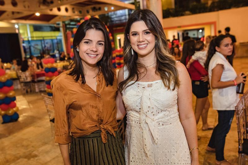 Priscila Ximenes e Marina Figueiredo