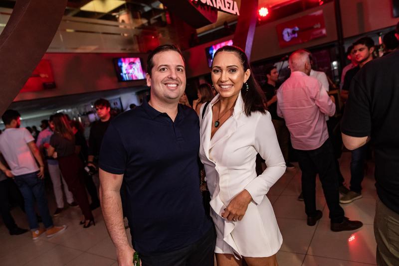 Rodrigo Ponte e Cleia Girao