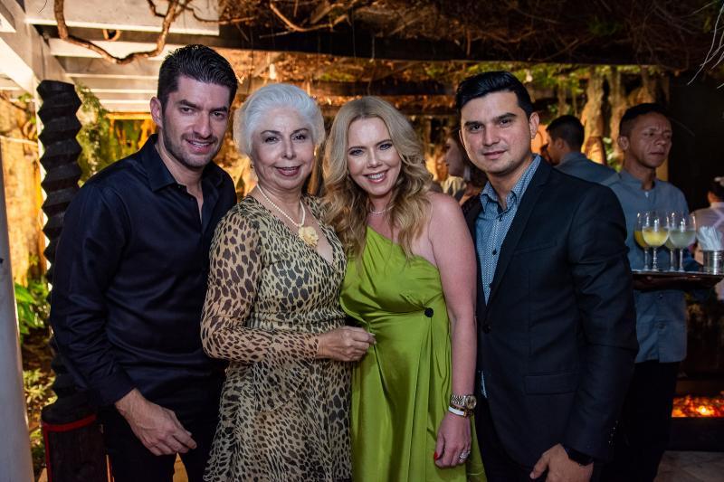 Paulo Benevides, Alodia Guimaraes, Branca Mourao e Paulo Rodrigues
